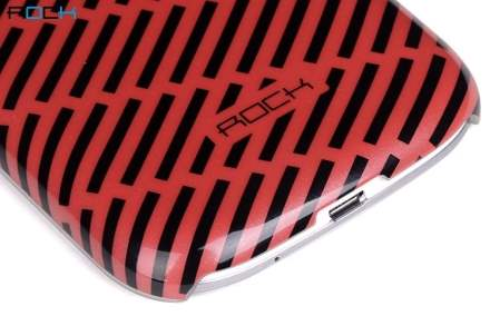 ROCK Luxurious Glossy Colour Case for Samsung I9300 Galaxy S3 - Red