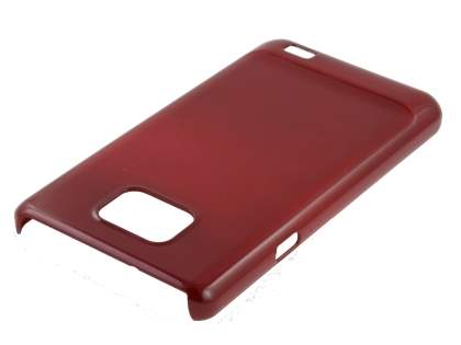 Slim Glossy Case for Samsung I9100 Galaxy S2 - Red