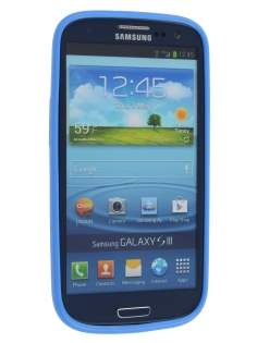 Colour TPU Gel Case for Samsung I9300 Galaxy S3 - Blue