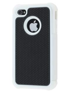 iPhone 4S/4 Impact Case - White/Classic Black Impact Case