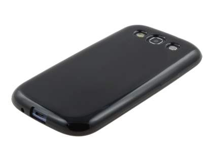 Samsung I9300 Galaxy S3 Colour TPU Gel Case - Black