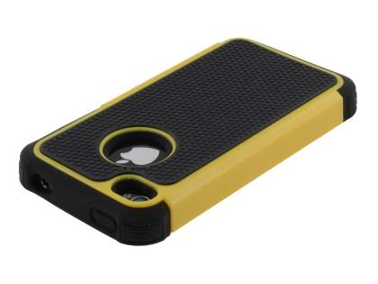 iPhone 4S/4 Impact Case - Yellow/Classic Black