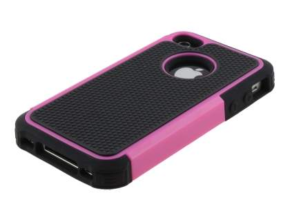 iPhone 4S/4 Impact Case - Pink/Classic Black