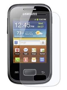 Samsung S5300 Galaxy Pocket Ultraclear Screen Protector - Screen Protector
