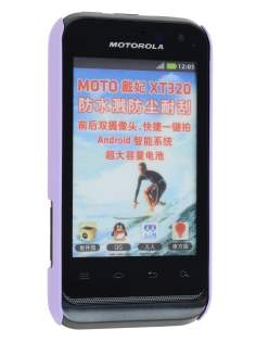 Vollter Ultra Slim Case for Motorola Defy Mini XT320 - Light Purple