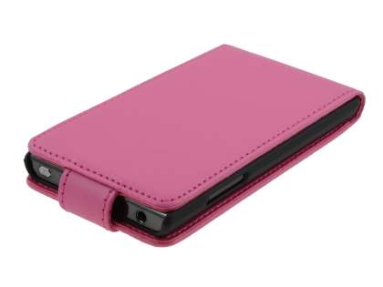 Synthetic Leather Flip Case for LG Optimus L7 P700 - Pink