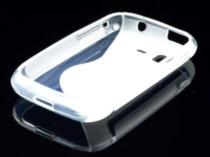 Wave Case for Samsung Galaxy Pocket S5300 - Frosted Clear/Clear