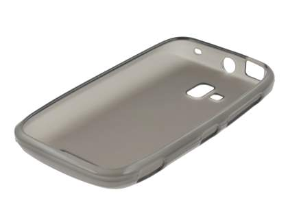 Nokia Lumia 610 TPU Gel Case - Frosted Grey