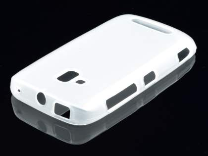 Nokia Lumia 610 TPU Gel Case - Frosted Clear