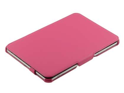 Premium Samsung Galaxy Tab 8.9 4G Slim Synthetic Leather Flip Case with Dual-Angle Tilt Stand - Pink