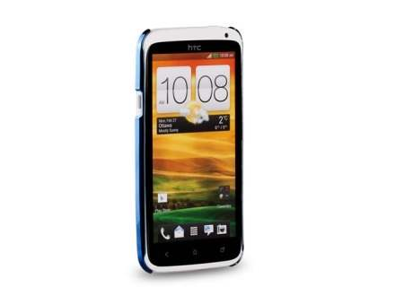 MOMAX Ultra-Thin Metallic Case for HTC One X - Metallic Blue