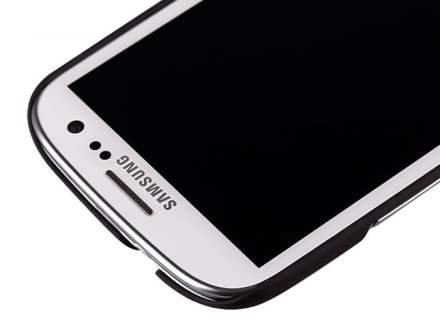 MOMAX Ultra Tough Slim Rubberised Case for Samsung I9300 Galaxy S3 - Night Black
