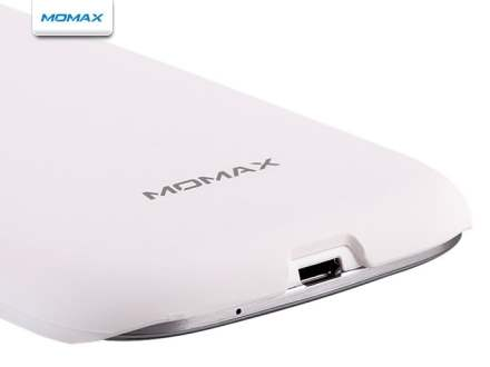MOMAX Ultra Tough Slim Rubberised Case for Samsung I9300 Galaxy S3 - Pearl White