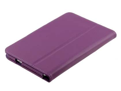 Samsung Galaxy Tab 7.0 Plus Synthetic Leather Flip Case with Fold-Back Stand - Purple
