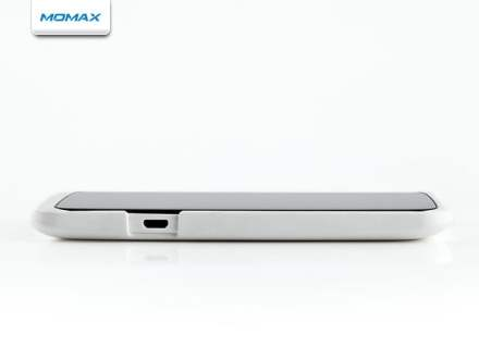 MOMAX Ultra Tough Slim Rubberised Case for HTC One X - Pearl White