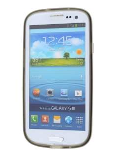 Samsung I9300 Galaxy S3 Dual-Design Case - Grey/White