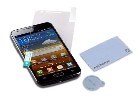 MOMAX Crystal Deluxe HD & AF Screen Protector for Samsung Galaxy S II 4G