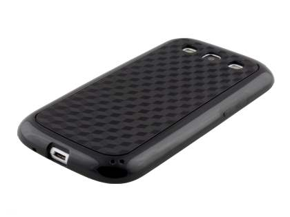 3D Design Protective Case for Samsung I9300 Galaxy S3 - Classic Black