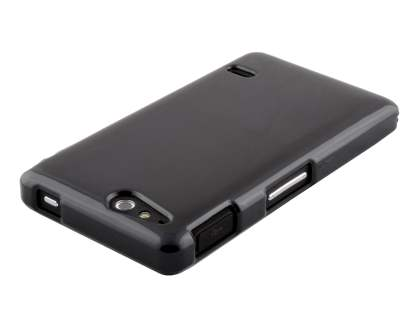 Sony Xperia go ST27i Colour TPU Gel Case - Black