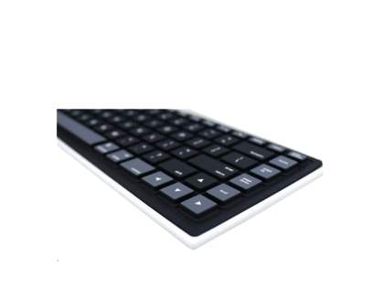 Bluetooth Wireless Rollup Portable Keyboard for Apple - Black
