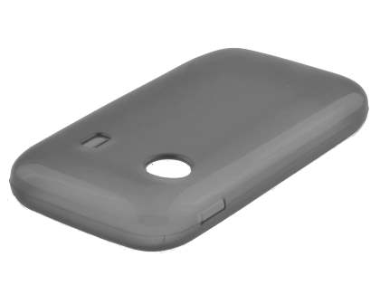 Samsung Galaxy Y S5360T Frosted TPU Case - Frosted Grey