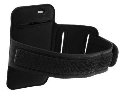 Universal Sports Arm Band for HTC One X / XL / X+ - Black/Black