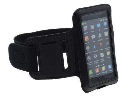Universal Sports Arm Band for Samsung I9100 Galaxy S2 - Black/Black Sports Arm Band