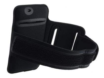 Universal Sports Arm Band for Samsung I9100 Galaxy S2 - Black/Black