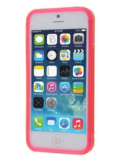 Wave Case for iPhone SE/5s/5 - Frosted Pink/Pink