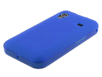 Samsung Galaxy Ace S5830 Frosted TPU Case - Ocean Blue