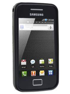 Samsung Galaxy Ace S5830 Frosted TPU Case - Night Black