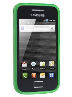 Samsung Galaxy Ace S5830 Frosted TPU Case - Lime Green
