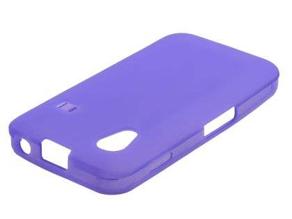 Samsung Galaxy Ace S5830 Frosted TPU Case - Lavender Purple