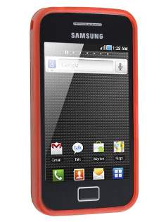 Samsung Galaxy Ace S5830 Frosted TPU Case - Amaranth Red