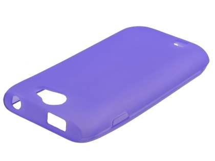 Samsung Galaxy W I8150 Frosted TPU Case - Lavender Purple