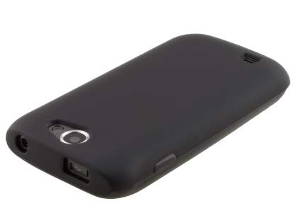Samsung Galaxy W I8150 Frosted TPU Case - Night Black