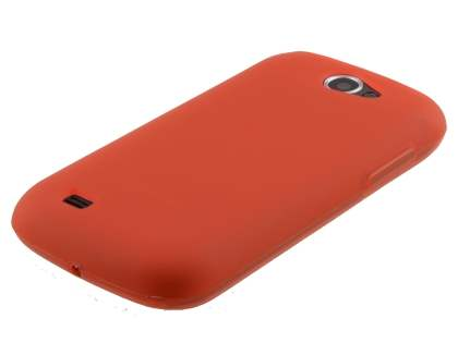 Samsung Galaxy W I8150 Frosted TPU Case - Amaranth Red