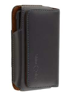 Extra-tough Genuine leather ShineColours belt pouch for Sony Xperia go ST27i - Belt Pouch