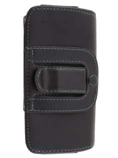 Extra-tough Genuine leather ShineColours belt pouch for Sony Xperia go ST27i