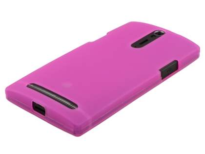 Sony Xperia S LT26i Frosted TPU Case - Baby Pink