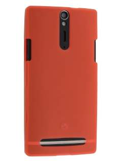 Sony Xperia S LT26i Frosted TPU Case - Red