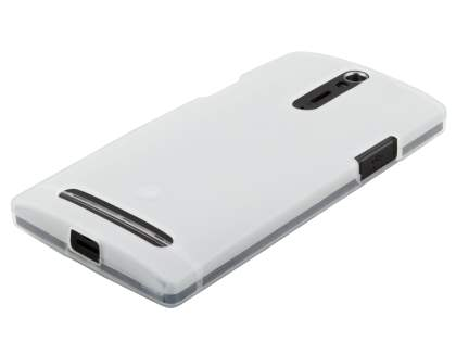 Sony Xperia S LT26i Frosted TPU Case - Clear