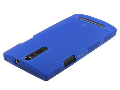 Sony Xperia S LT26i Frosted TPU Case - Blue