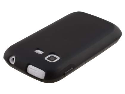Samsung Galaxy Pocket S5300 Frosted TPU Case - Black