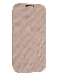 Premium Book-Style Slim Flip Cover for Samsung I9300 Galaxy S3 - Seashell Pink