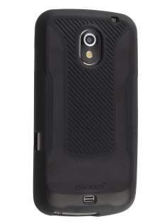 COCASES Dual-Design Case plus Screen Protector for Samsung I9250 Galaxy Nexus - Classic Black