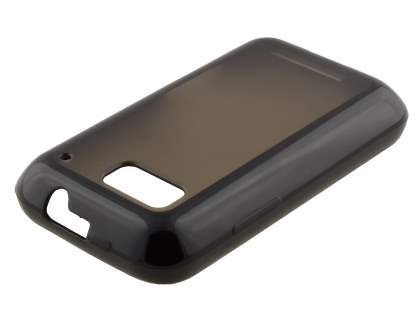 COCASES Dual-Design Case for Motorola DEFY ME525 - Black/Frosted Grey