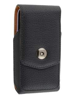 Textured Synthetic Leather Vertical Belt Pouch for Samsung Galaxy S3/S4