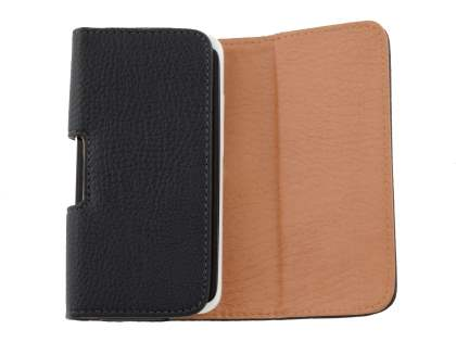 Textured Synthetic Leather Belt Pouch for HTC One X / XL / X+