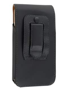 Smooth Synthetic Leather Vertical Belt Pouch for HTC One X / XL / X+